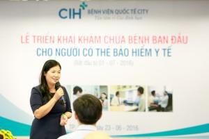 CIH ra đời vào tháng 1/2015, là bệnh viện đa khoa được xây dựng với mô hình dịch vụ y tế chất lượng cao, dự kiến là nơi đào tạo, nghiên cứu và phát triển nguồn nhân lực y tế trong khu y tế kỹ thuật cao Hoa Lâm – Shangri-la.