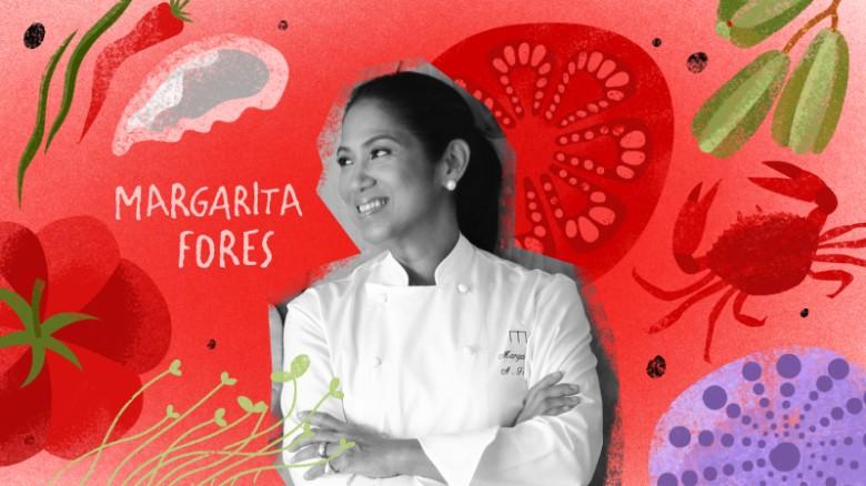 Margarita Fores, nhà hàng Cibo: Vì người dân đi lại nhiều hơn và nếm trải nhiều món ở trên thế giới hơn, các đầu bếp sẽ tìm cách tiếp cận sự phong phú và phối chế các thành phần.