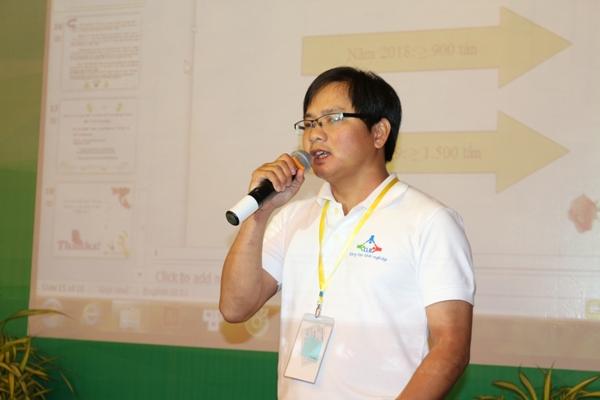 Trần Phúc Hậu -Dự án SX Chế Phẩm Vi sinh từ bột bã mía phục vụ nuôi tôm thâm canh