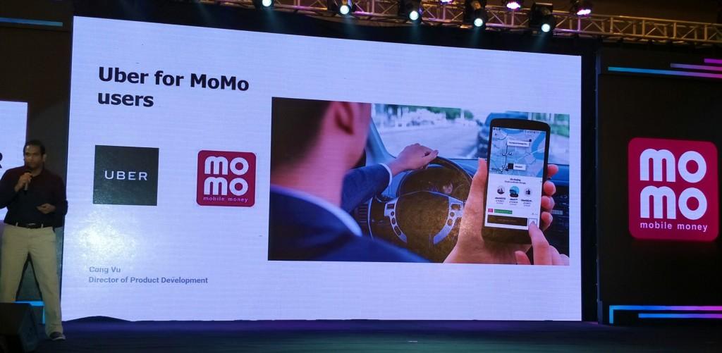 đại diện Uber chia sẻ về công nghệ kết nối trong hình thức trả tiền giữa Uber và MoMo