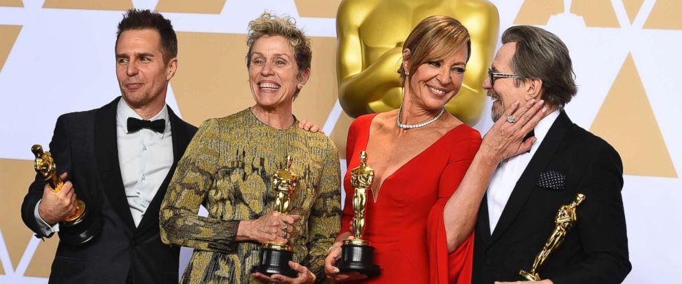 Dàn diễn viên đoạt giải Oscar với bộ phim Three billboards outside ebbing, Missouri