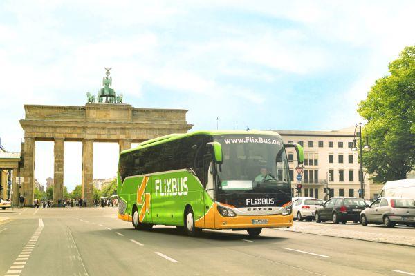 Dịch vụ di chuyển FlixBus được đưa ra khắp các nước châu Âu vào năm 2018. Ảnh: TL