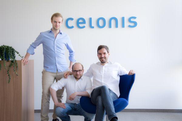 Các đồng sáng lập viên của Celonis: Alexander Rinke (trái), Bastian Nominacher (giữa), Martin Klenk (phải).