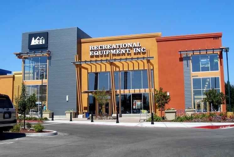 Cửa hàng này của REI ở Mountain View, California, nằm trong số 143 cửa hàng sẽ đóng cửa ngày Black Friday.
