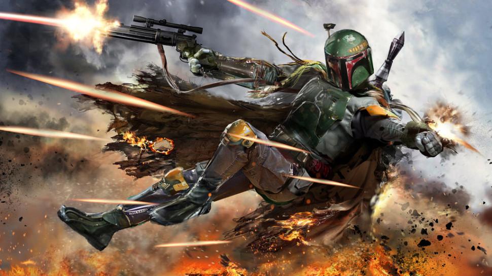 Một cảnh trong phim Star Wars: The Force Awakens sắp công chiếu.