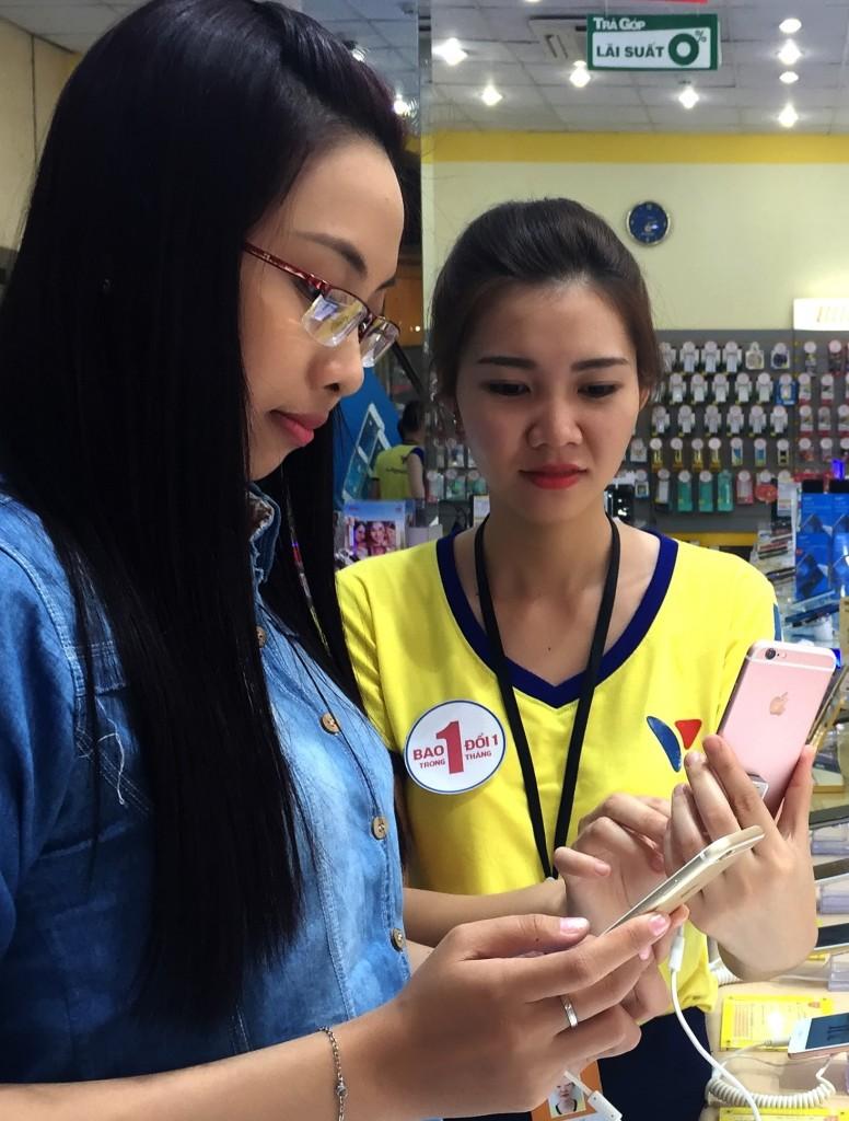 iPhone 6s tai Vien Thong A