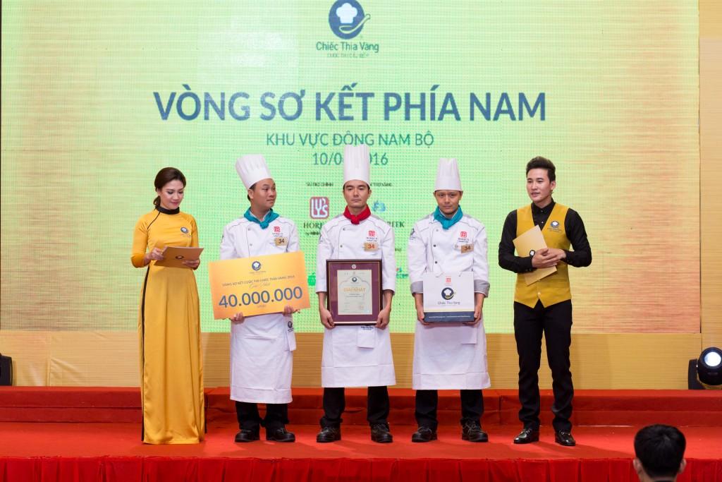 Đội đoạt giải nhất cụm Đông Nam Bộ - Khách sạn Palace Vũng Tàu - ảnh BTC