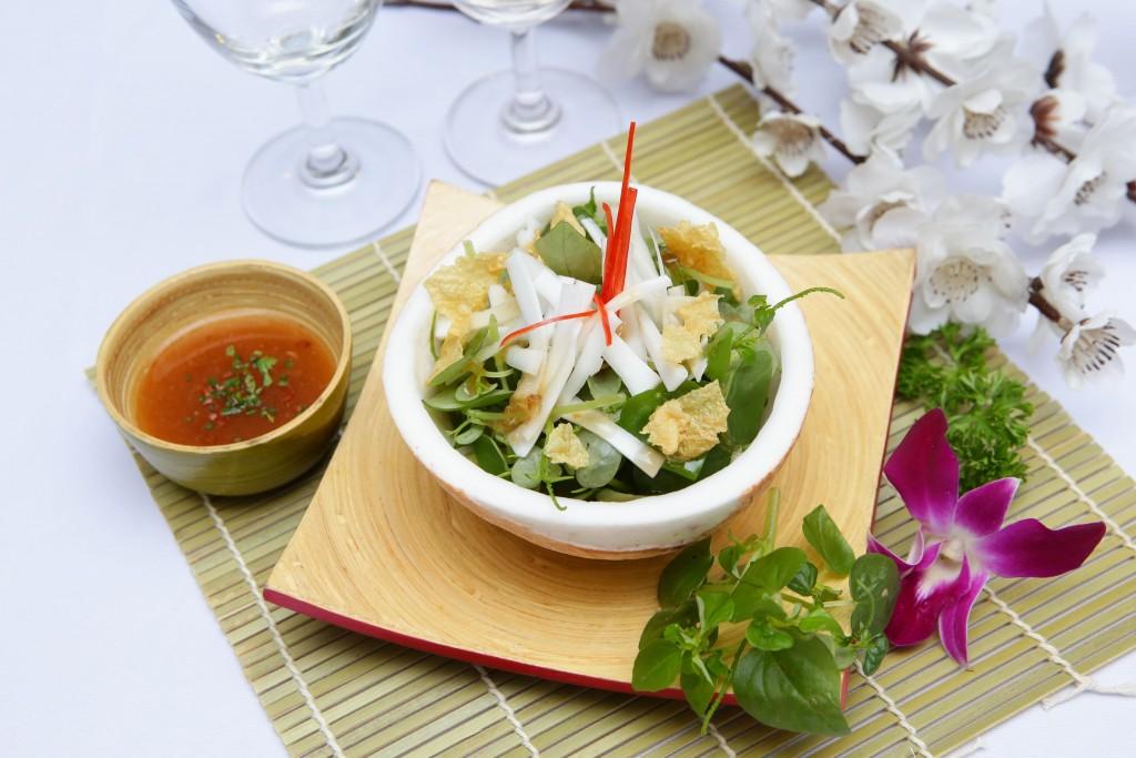 Rau Càng Cua Trộn Dừa