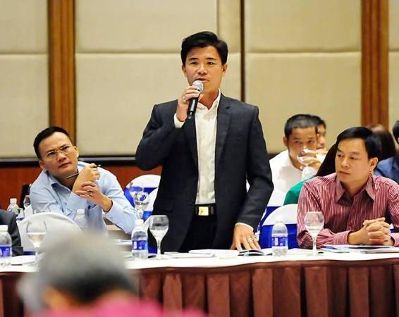 Ông Phạm Đình Thắng, nông dân xuất sắc huyện Hàm Yên, tỉnh Tuyên Quang.