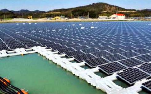 Dự án sản xuất điện bằng năng lượng mặt trời có công suất thiết kế khoảng 40MW.
