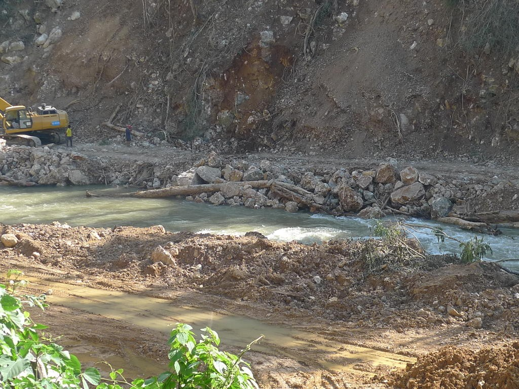 pak beng dam underway