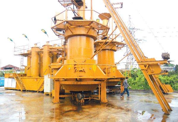 Nhà máy xử lý rác thải thành điện tại Gò Cát. Ảnh: Văn Nam