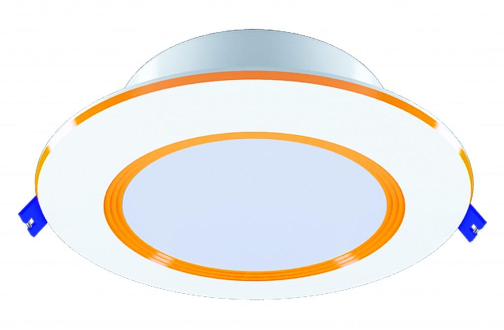 Đèn LED Downlight Âm 3 Chế Độ Gold