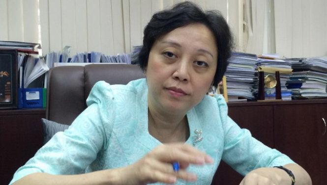 Bà Ph¡m Khánh Phong Lan ¢nh: L.TH.H.