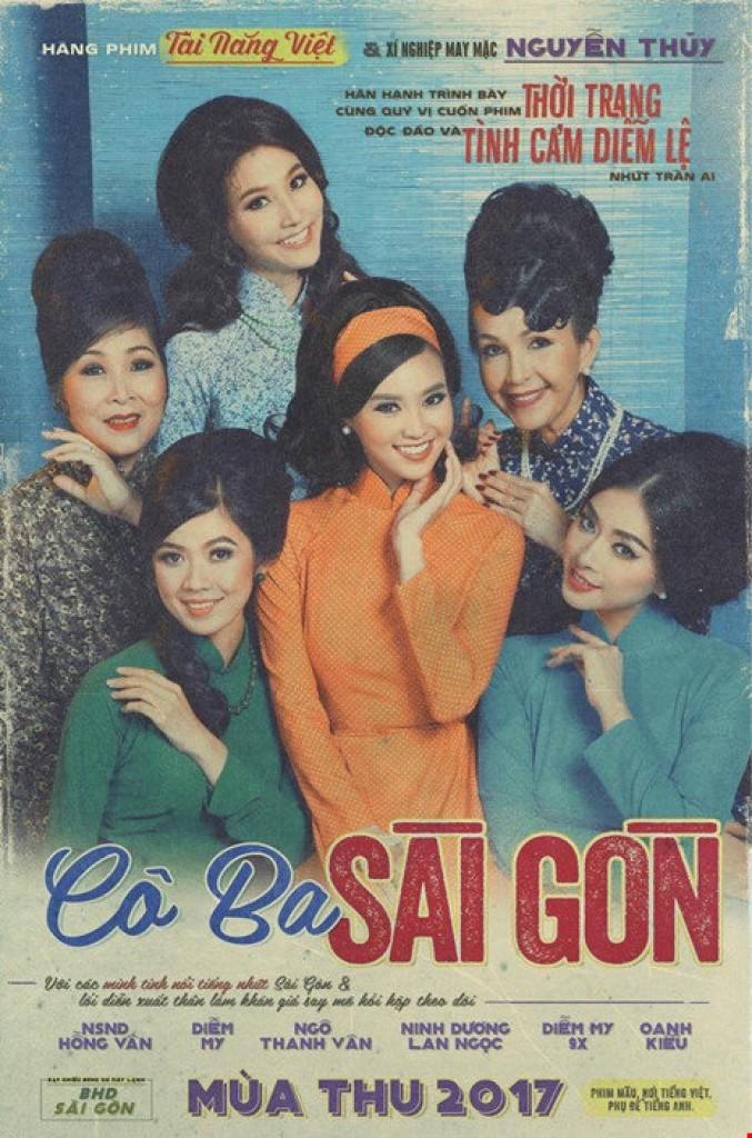 poster hoài cổ của Cô Ba Sài Gòn