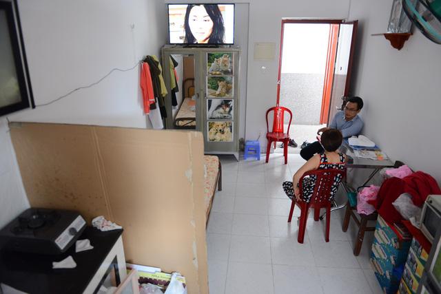 Một căn hộ có diện tích 22m2 tại chung cư Thới An 4, Q.12, TP.HCM - Ảnh: QUANG ĐỊNH